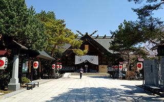 北見神社お宮